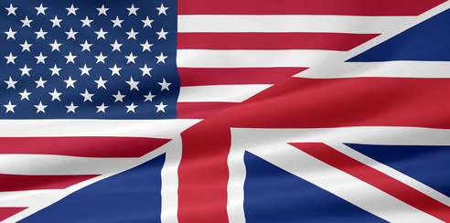 US - UK - Flagge